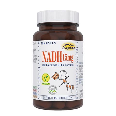 NADH 15 mg Kapseln 50 St�ck