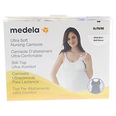 MEDELA Schwangerschafts- u.Still-Top XL weiß 1 Stück - Vorderseite