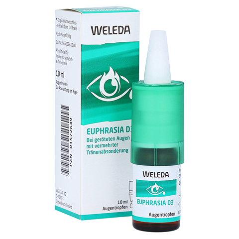 EUPHRASIA D 3 Augentropfen 10 Milliliter N1