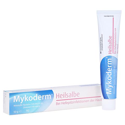Mykoderm Heilsalbe Nystatin/Zinkoxid 50 Gramm N2