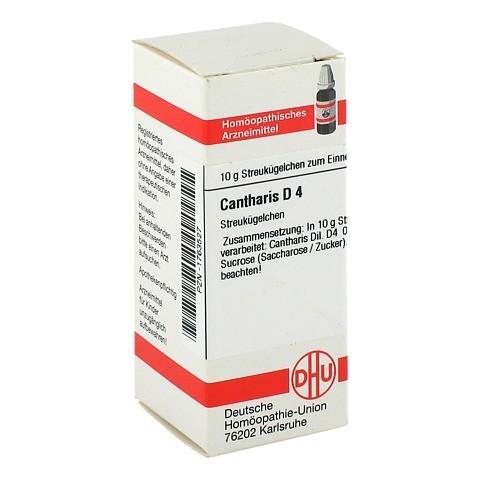 CANTHARIS D 4 Globuli 10 Gramm N1