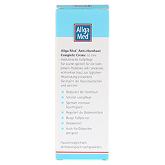 ALLGA MED Anti-Hornhaut Complete Creme 75 Milliliter - Rückseite