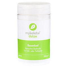 MYKOLETAL detox Basenbad Pulver 350 Gramm