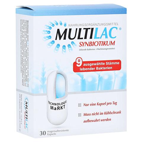 MULTILAC Synbiotikum magensaftresistente Kapseln 30 Stück