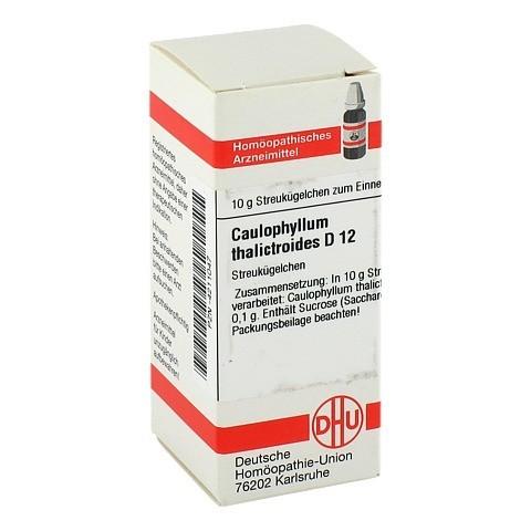 CAULOPHYLLUM THALICTROIDES D 12 Globuli 10 Gramm N1