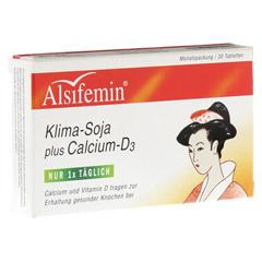 ALSIFEMIN Klima-Soja plus Calcium D3 Tabletten 30 Stück