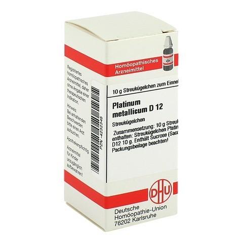 PLATINUM METALLICUM D 12 Globuli 10 Gramm N1