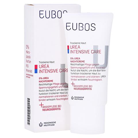 EUBOS TROCKENE Haut Urea 5% Nachtcreme 50 Milliliter