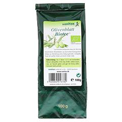 OLIVENBLATT Biotee 100 Gramm - Vorderseite