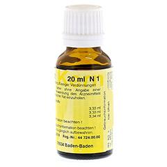 MERIDIANKOMPLEX 12 Tropfen zum Einnehmen 20 Milliliter N1 - Linke Seite