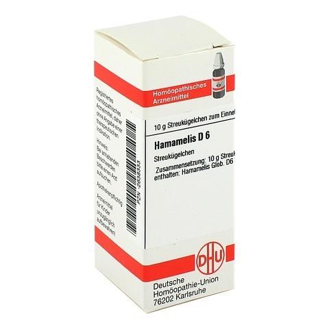 HAMAMELIS D 6 Globuli 10 Gramm N1