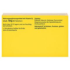 DEKRISTOLVIT D3 4.000 I.E. Tabletten 90 Stück - Oberseite
