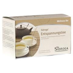 SIDROGA Wellness Entspannungstee Filterbeutel 20 St�ck