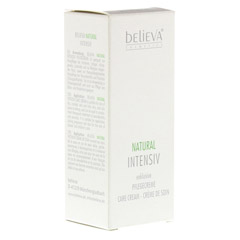 BELIEVA Natural Intensiv Creme 50 Milliliter