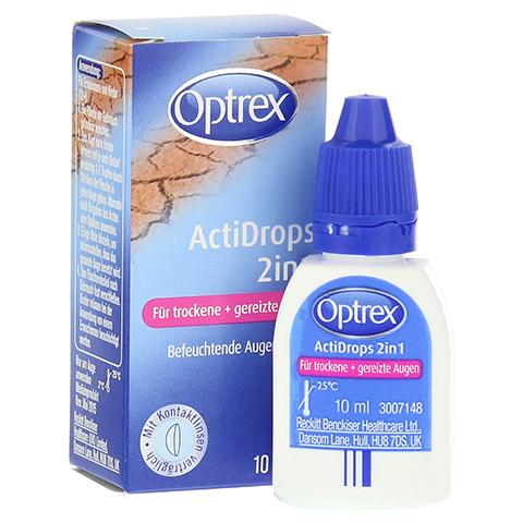 OPTREX ActiDrops 2in1 f.trockene+gereizte Augen 10 Milliliter