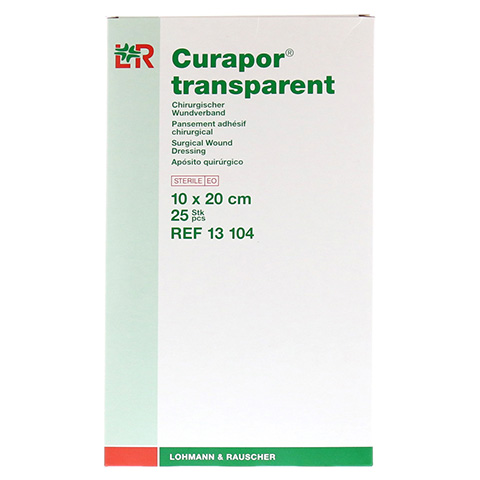 CURAPOR Wundverband steril transparent 10x20 cm 25 St�ck