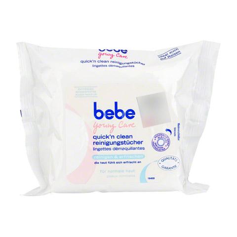 BEBE Young Care erfrischende Reinig.Tücher NF 25 Stück