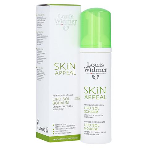 WIDMER Skin Appeal Lipo Sol Schaum unparf�miert 150 Milliliter