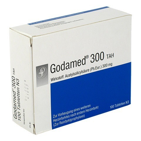 Godamed 300mg ASS TAH 100 St�ck N3