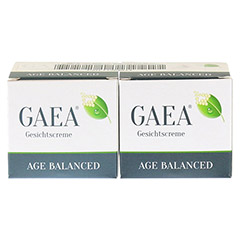 GAEA Age Balanced Gesichtscreme 50 Milliliter - Rückseite