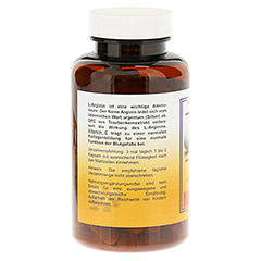 L-ARGININ+OPC 600 mg Kapseln 100 St�ck - Linke Seite
