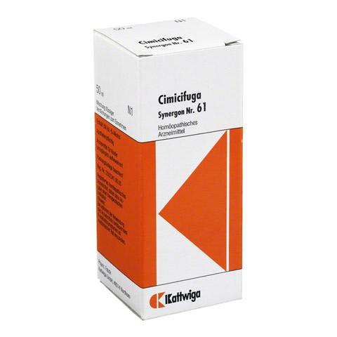 SYNERGON KOMPLEX 61 Cimicifuga Tropfen 50 Milliliter N1