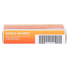 Kohle-Hevert 20 Stück - Unterseite