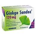 Ginkgo Sandoz 120mg 120 Stück N3