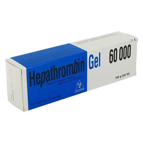 Hepathrombin 60000 100 Gramm N2