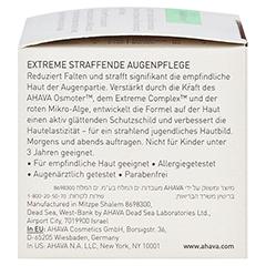 Ahava Extreme Firming Eye Cream 15 Milliliter - Rechte Seite