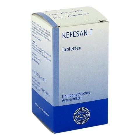 REFESAN T Tabletten 100 St�ck N1