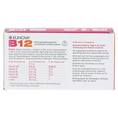 EUNOVA B12 Komplex Trinkfläschchen 10x10 Milliliter - Rückseite