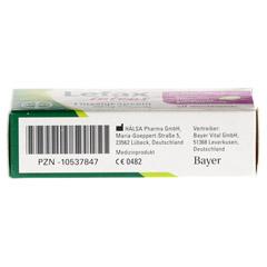 LEFAX intens Flüssigkapseln 250 mg Simeticon 20 Stück - Unterseite
