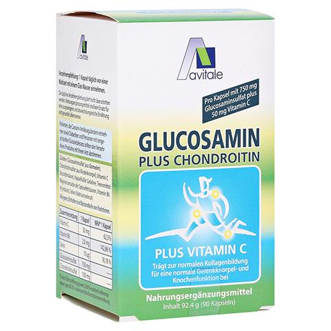 GLUCOSAMIN 750 mg+Chondroitin 100 mg Kapseln 90 Stück