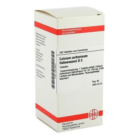 CALCIUM CARBONICUM Hahnemanni D 3 Tabletten 200 Stück N2
