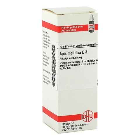 APIS MELLIFICA D 3 Dilution 20 Milliliter N1