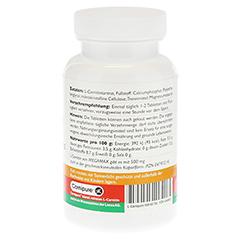 L-CARNIPURE 500 mg Kautabletten 60 Stück - Linke Seite