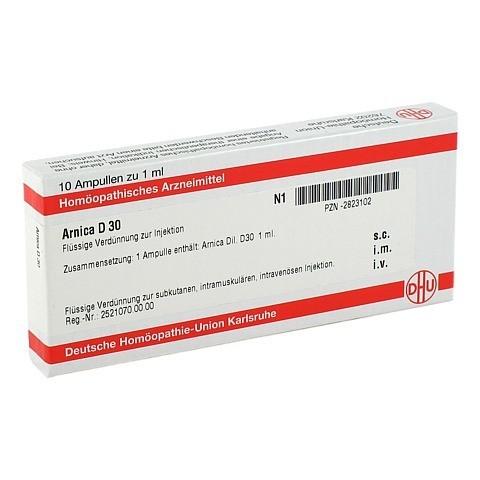 ARNICA D 30 Ampullen 10x1 Milliliter N1