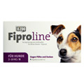 FIPROLINE 67 mg Lsg.z.Auftropf.f.kleine Hunde 4 Stück