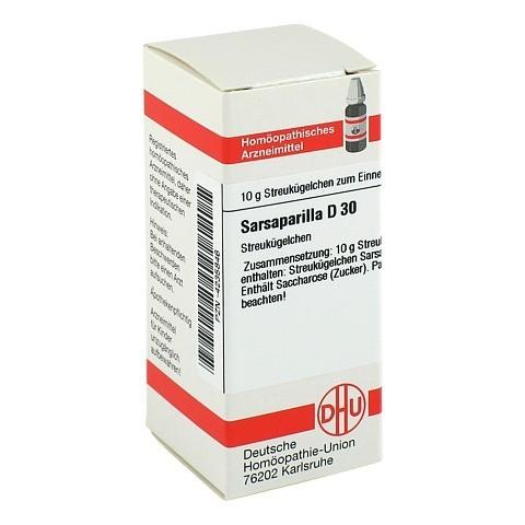 SARSAPARILLA D 30 Globuli 10 Gramm N1