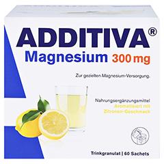 ADDITIVA Magnesium 300 mg N Pulver 60 Stück - Vorderseite