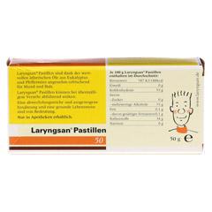 Laryngsan Pastillen 50 Stück - Rückseite