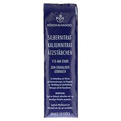 SILBERNITRAT-Kaliumnitr.Ätzstäb.Ätzstift 115mm st. 10 Stück