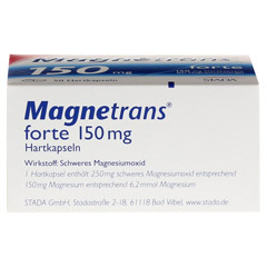 MAGNETRANS forte 150 mg Hartkapseln 50 St�ck N2 - Unterseite
