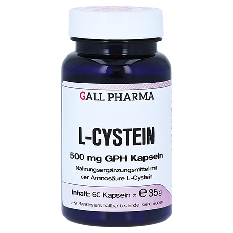 L-CYSTEIN 500 mg Kapseln 60 Stück