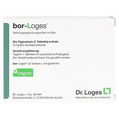 BOR-Loges Tabletten 60 Stück - Rückseite