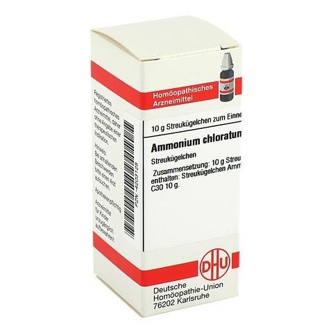 AMMONIUM CHLORATUM C 30 Globuli 10 Gramm N1