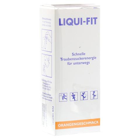 LIQUI FIT flüssige Zuckerlösung Orange Beutel 12 Stück