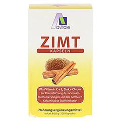 ZIMT KAPSELN 500 mg+Vitamin C+E 120 Stück - Vorderseite