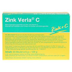 ZINK VERLA C Granulat 20 St�ck - R�ckseite